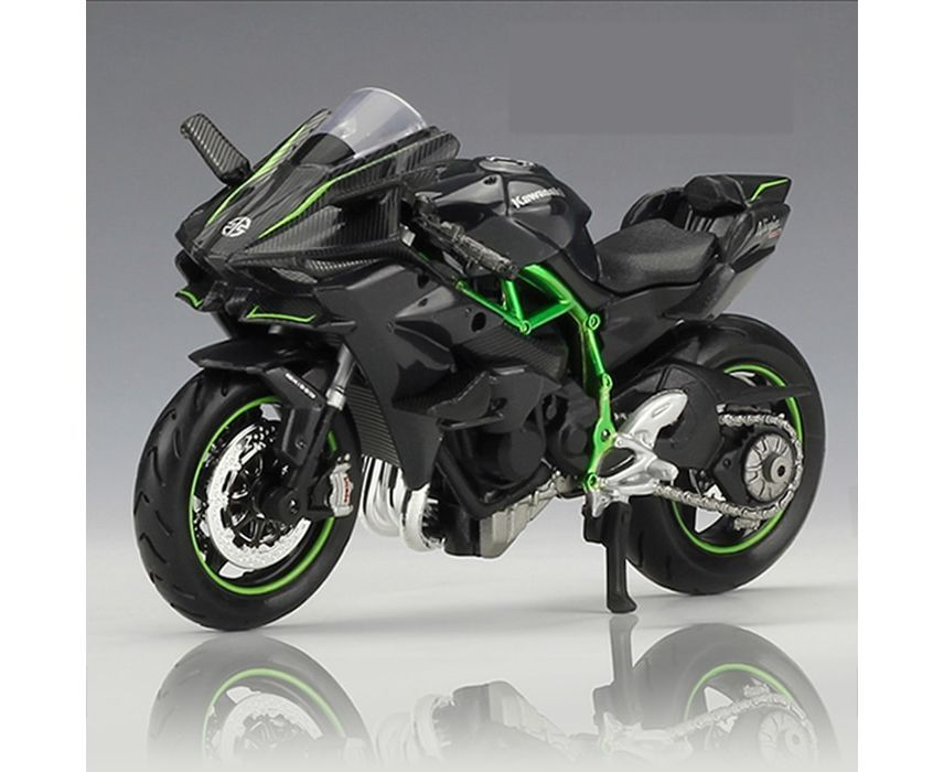US 1//18 Scale Maisto Kawasaki H2R Motorcycle Diecast Model vehicle Toy Gift